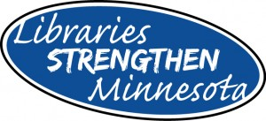 Libraries Strengthen Minnesota logo small