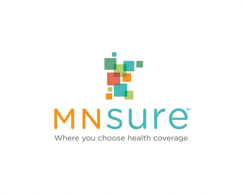 mnsure logo with tag line