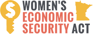 Womens Economic Security Act logo300px