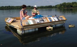 Floating Library in Winona