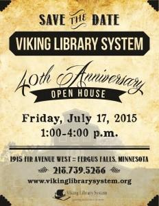 VLS 40 anniversary poster