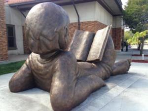 LARL sculpture in DL 2015