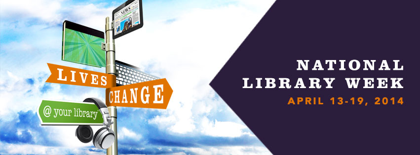 2014 National Library Week Banner