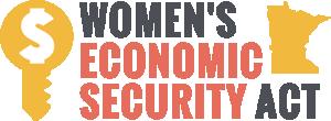 Womens Economic Security Act logo300px