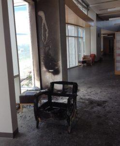 GRRL fire damage 2016
